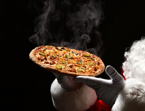 Christmas Pizza From Quattro